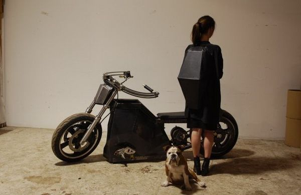 超炫酷风力摩托车:打造者望其加入《疯狂的麦克斯》