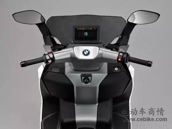 宝马电动摩托CEvolution量产版:时速120KM