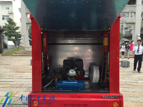 南京将建成江苏古建筑群微型消防站配消防摩托