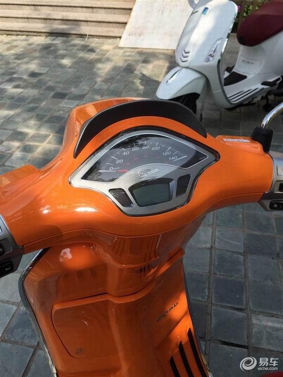 比亚乔摩托车上市售价区间3.1万-3.2万元