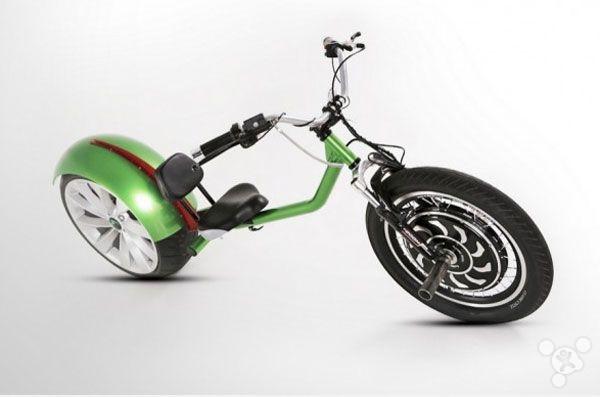 史上最任性:Chop-E半斜躺电动摩托车