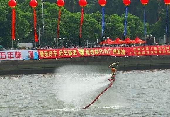 2015年广州国际龙舟邀请赛盛大落幕豪进摩托鼎力赞