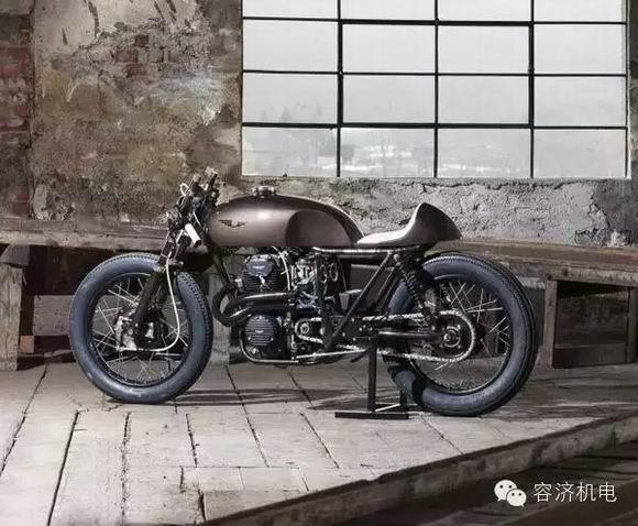 一个基督教徒的摩托车改装救赎