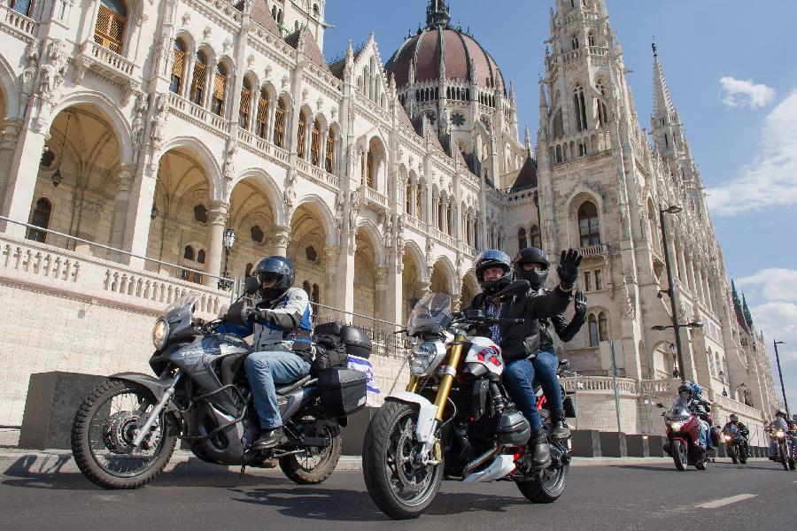 """以色列摩托车队""""远征""""马加比厄运动会"""