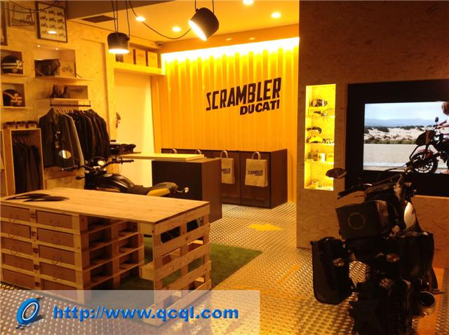 杜卡迪在意大利开设Scrambler主题专营店