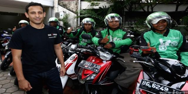 """印尼版""""滴滴""""Go-Jek提供摩托车出租车打车服务"""