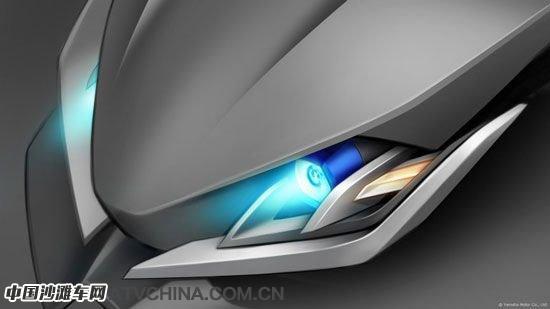 雅马哈概念三轮摩托车:复古、前卫都拿手