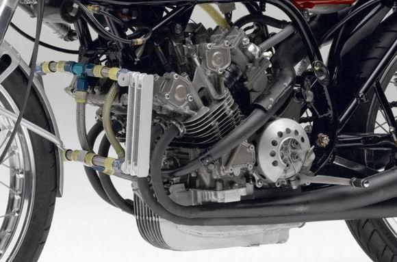 泰国车展上的HondaRC-XMiniVintageRacer
