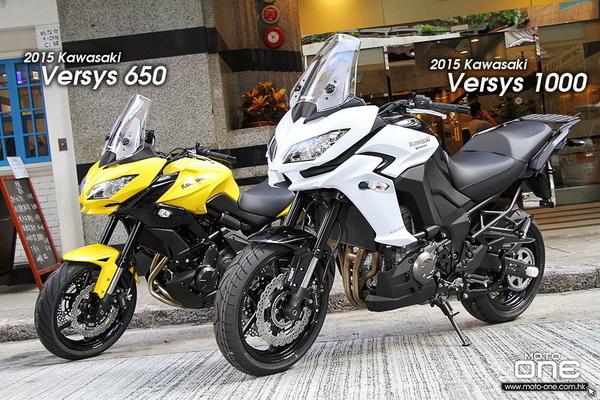 2015川崎Versys650&1000│同系多用途车新色抵港