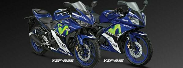 泰国YamahaYZF-R15、YZF-R3MotoGP限量版