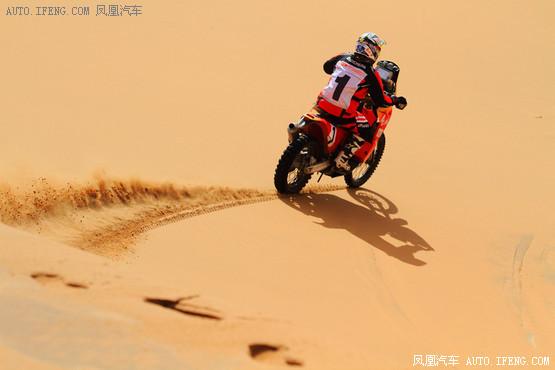 中国越野拉力赛SS8:摩托车组赫尔南迪斯