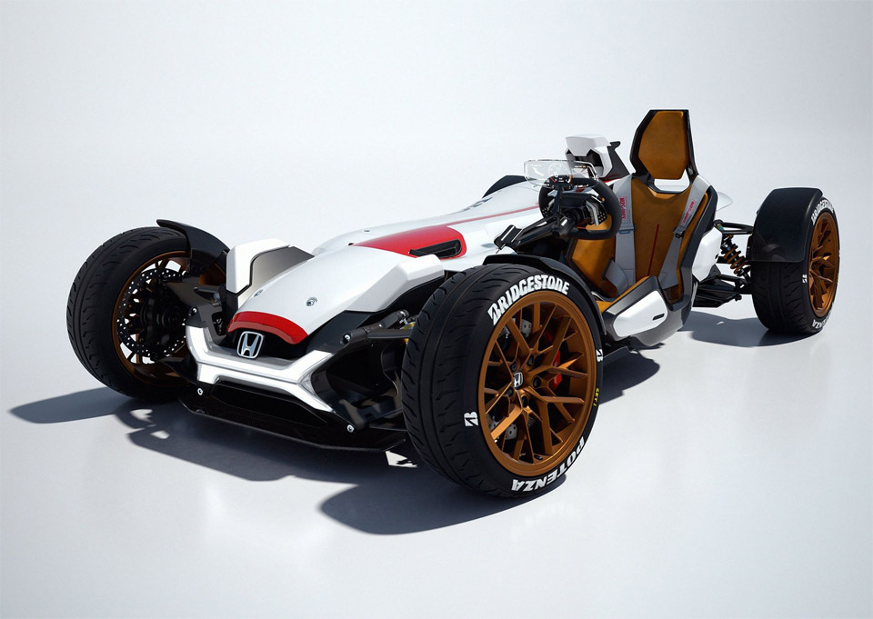 F1概念街车配备HONDARC213V-S引擎
