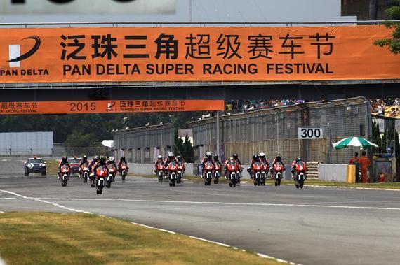 泛珠超级摩托车组赛泛珠赛车节的一张闪亮新名片