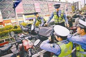 深圳每年查扣40万辆澳门永利娱乐场的网站和电动车