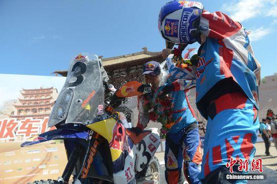 2015中国越野拉力赛收官西班牙车手夺冠