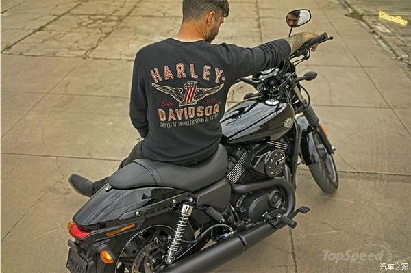 """2016款H-DStreetXG500""""哈雷""""最轻量级巡航"""