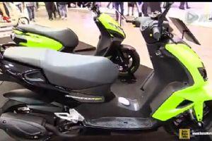 EICMA米兰摩托车展 标致Speedfight450cc踏板车