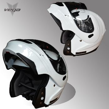 Vega 多色超酷揭面盔 美国进口头盔 DOT标准 超帅