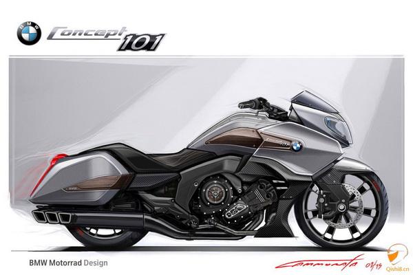 2015宝马101概念摩托车