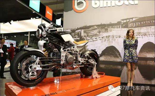 EICMA车展最独特车型:BimotaTesi3DRaceCafe