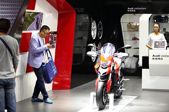 杜卡迪亮相2015杭州国际汽车工业展览会