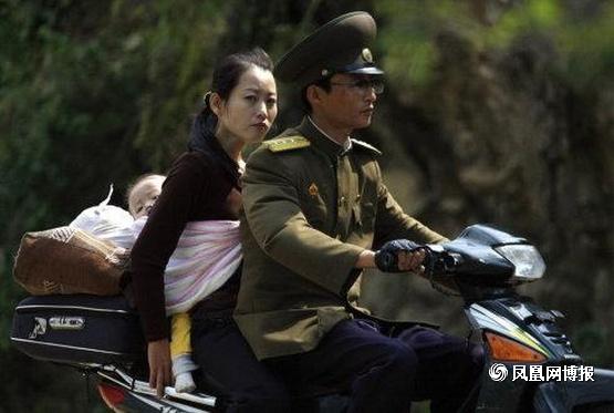 朝鲜又禁了摩托车