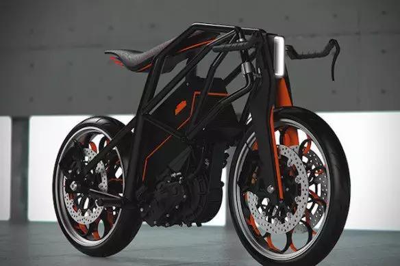 KTM推出全新概念��幽ν熊�-KTMIon