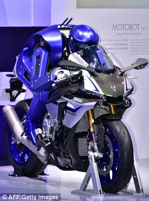 摩托车骑行机器人闪亮登场