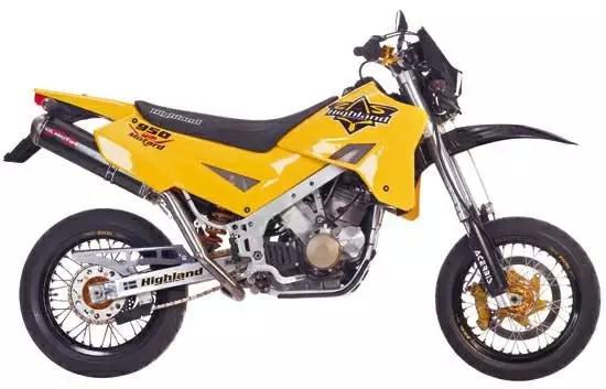 欧洲高性能大排摩托车Highland900登陆中国