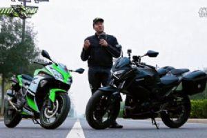 【MOTO小峰】川崎Z250 VS 小忍者 综合大比拼 第十二期