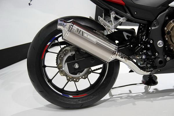 2015东京车展:HONDACBR500R/400R