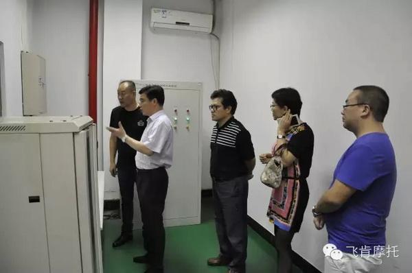 广州省贸促会领导莅临飞肯公司调研考察