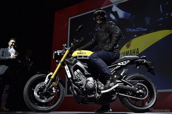 日系摩托:雅马哈米兰车展60周年纪念欧洲配置摩托车