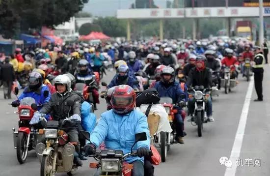 交通运输部:摩托车春节期间免费上高速