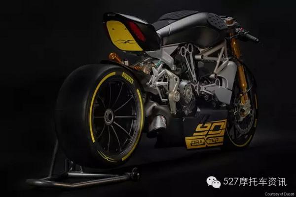 杜卡迪发布直线加速概念赛车draXter基于XDiavel改