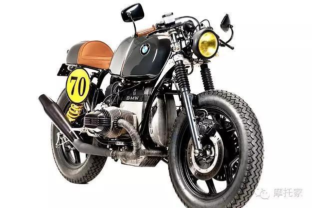 复古改装BMWR80号称黑暗法律的咖啡骑士
