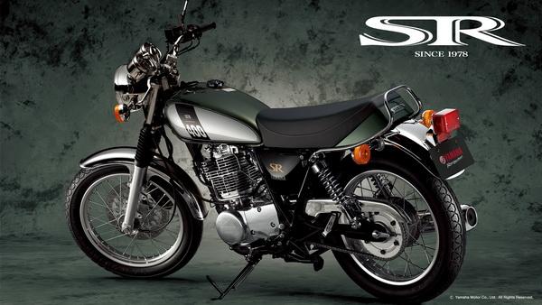新图案:Yamaha2016SR400本土版