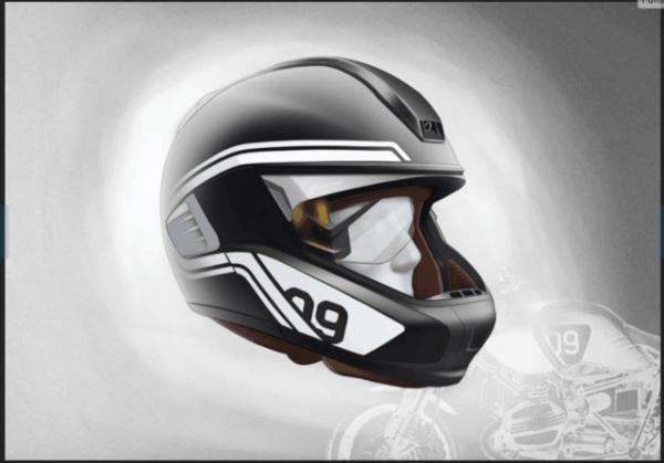 拉风又安全宝马给骑士们准备了智能摩托车头盔