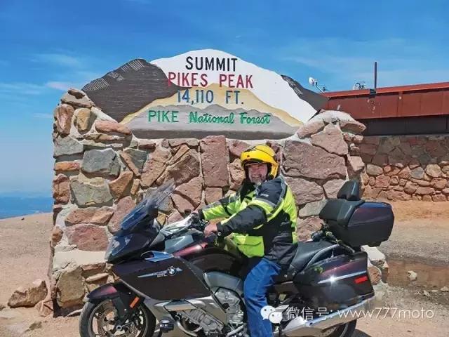 攀爬派克峰公路摩旅骑行记