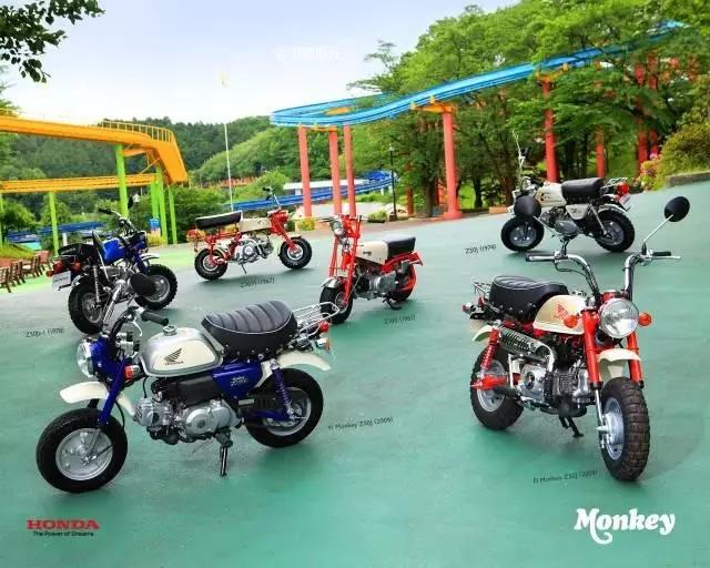 摩友猴年大吉:�P�c猴子摩托�l展史