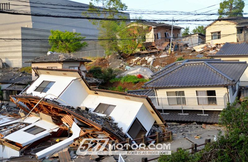 日本地震灾情严重本田工厂被迫停产