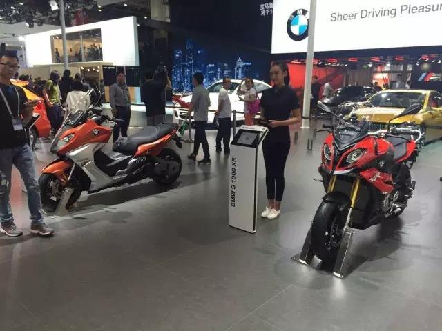 现场速递:多款摩托车新车亮相北京国际汽车展