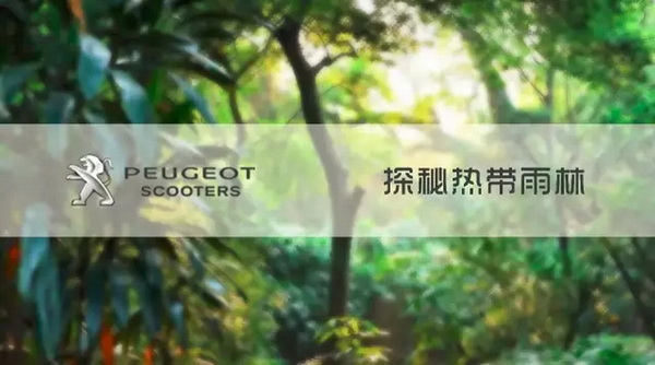 踏板也摩旅标致带你走入热带雨林