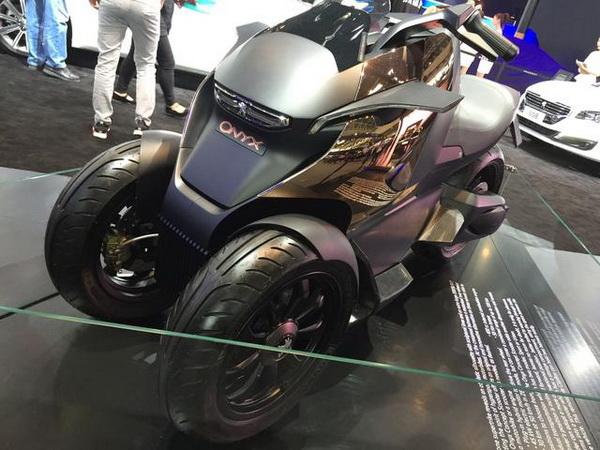 2016北京车展摩托车上的雪佛兰摩托车