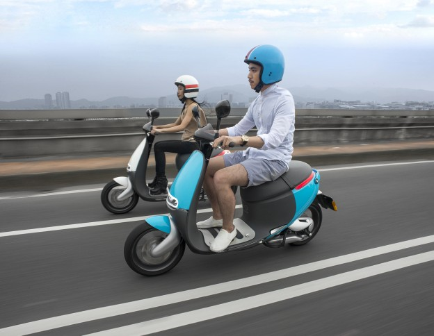 Gogoro?#20013;?#31283;坐电动摩托车市场龙头宝座