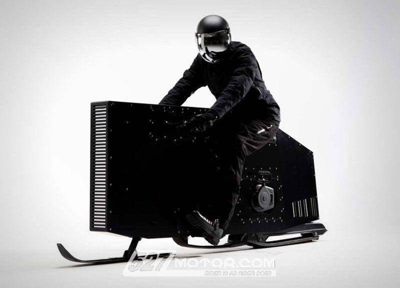 Snoped:颠覆摩托车的异类!