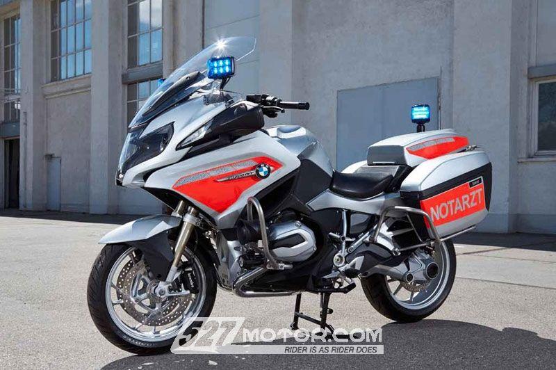 """骑着R1200RT""""飞车""""出诊!BMW发布急救黄金城"""
