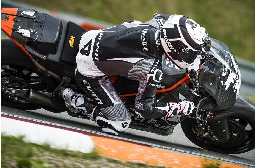 捷克布诺测试中的KTMMotoGPRC16