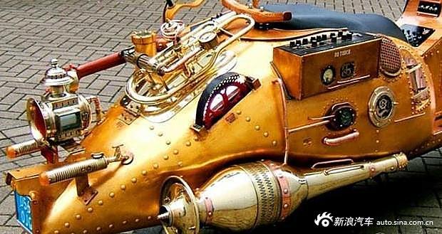 从来不用加油的非电动摩托你见过吗