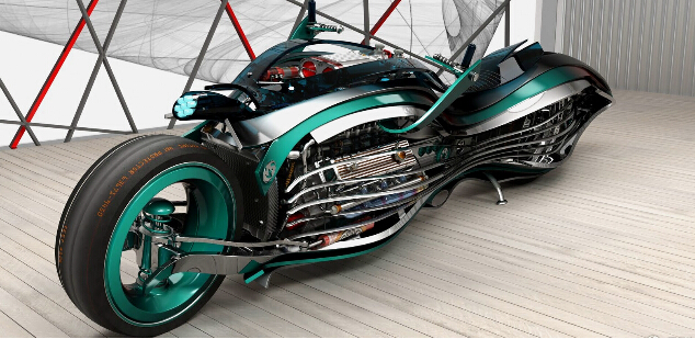 外形炫酷却难以量产的概念车?